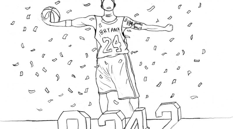 Kobe Bryant Piece Celebrating Sports Star